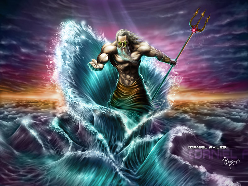 poseidon the god of - photo #3